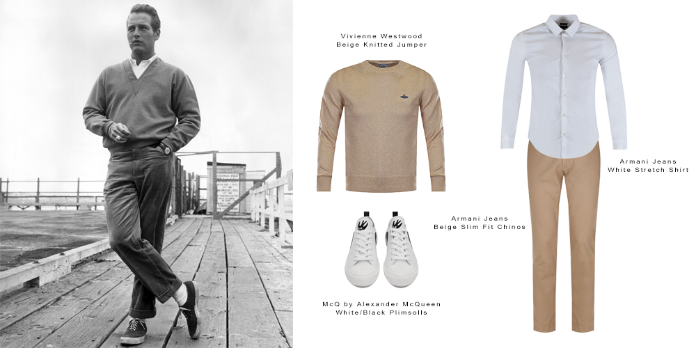 8758f573603 Get The Icon Look – Mr Paul Newman Style.