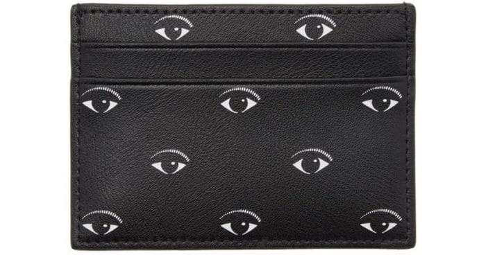 kenzo eye logo card holder