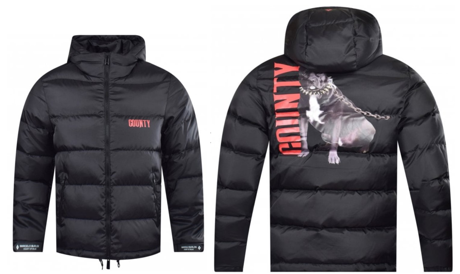 marcelo burlon county of milan dogo puffer jacket