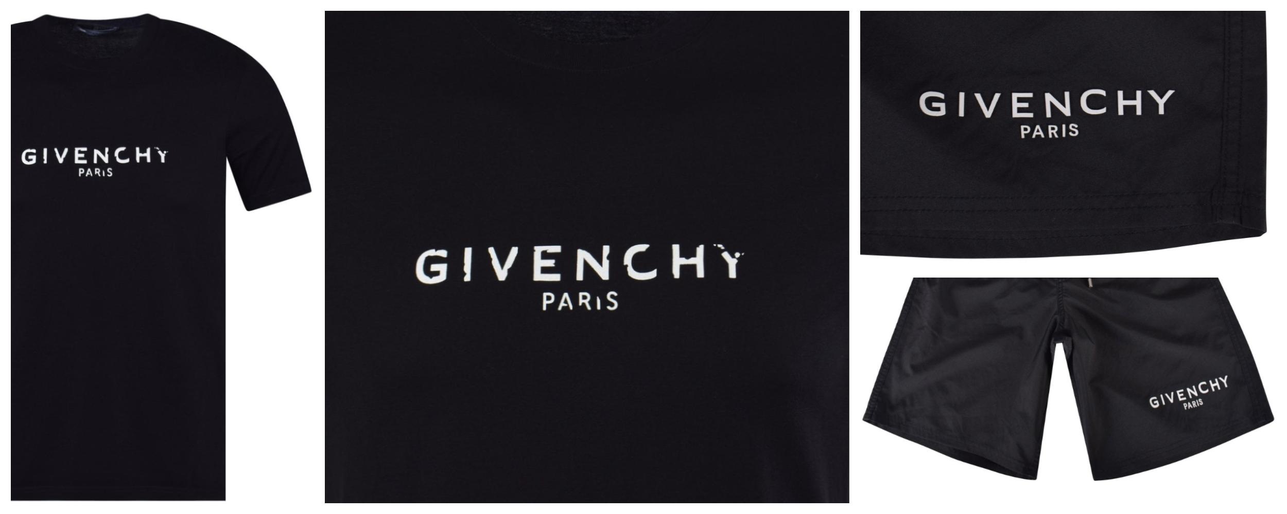 Givenchy Shorts and T-Shirt