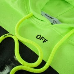 off-white brand hoodie drawstrings