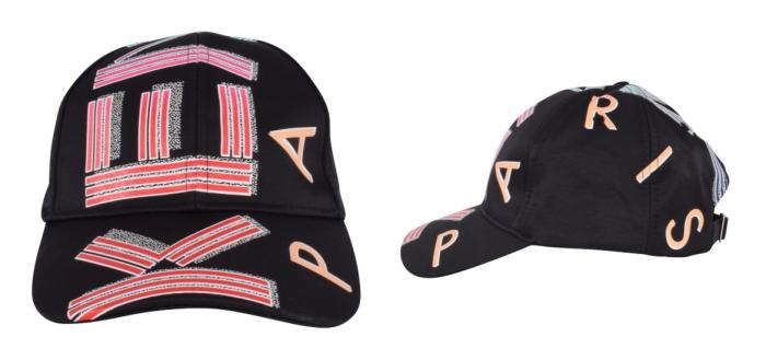 black baseball cap with Kenzo Paris all-over logo