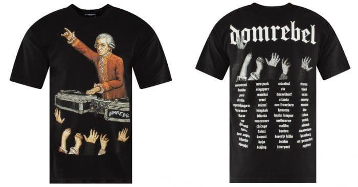 george washington domrebel dj turntables t-shirt mens fashion