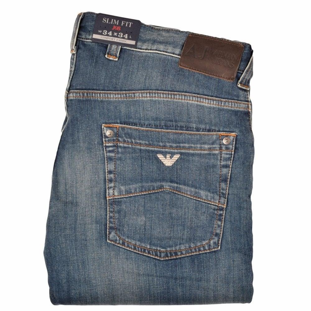 b6dc3464ba 06J082U J08 Slim Fit Jeans