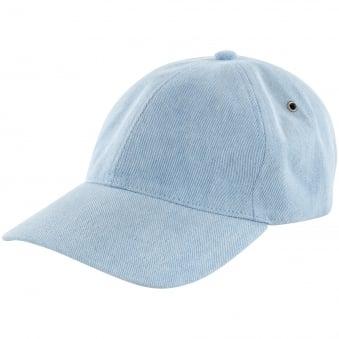 bddbc097dc4 A.P.C Light Blue Denim Baseball Cap