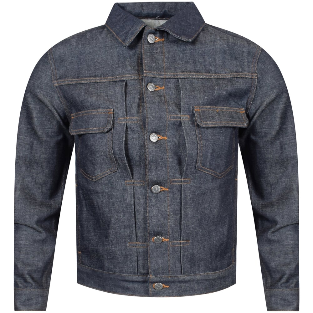 a836f26e5f A.P.C Raw Indigo Denim Jacket - Men from Brother2Brother UK