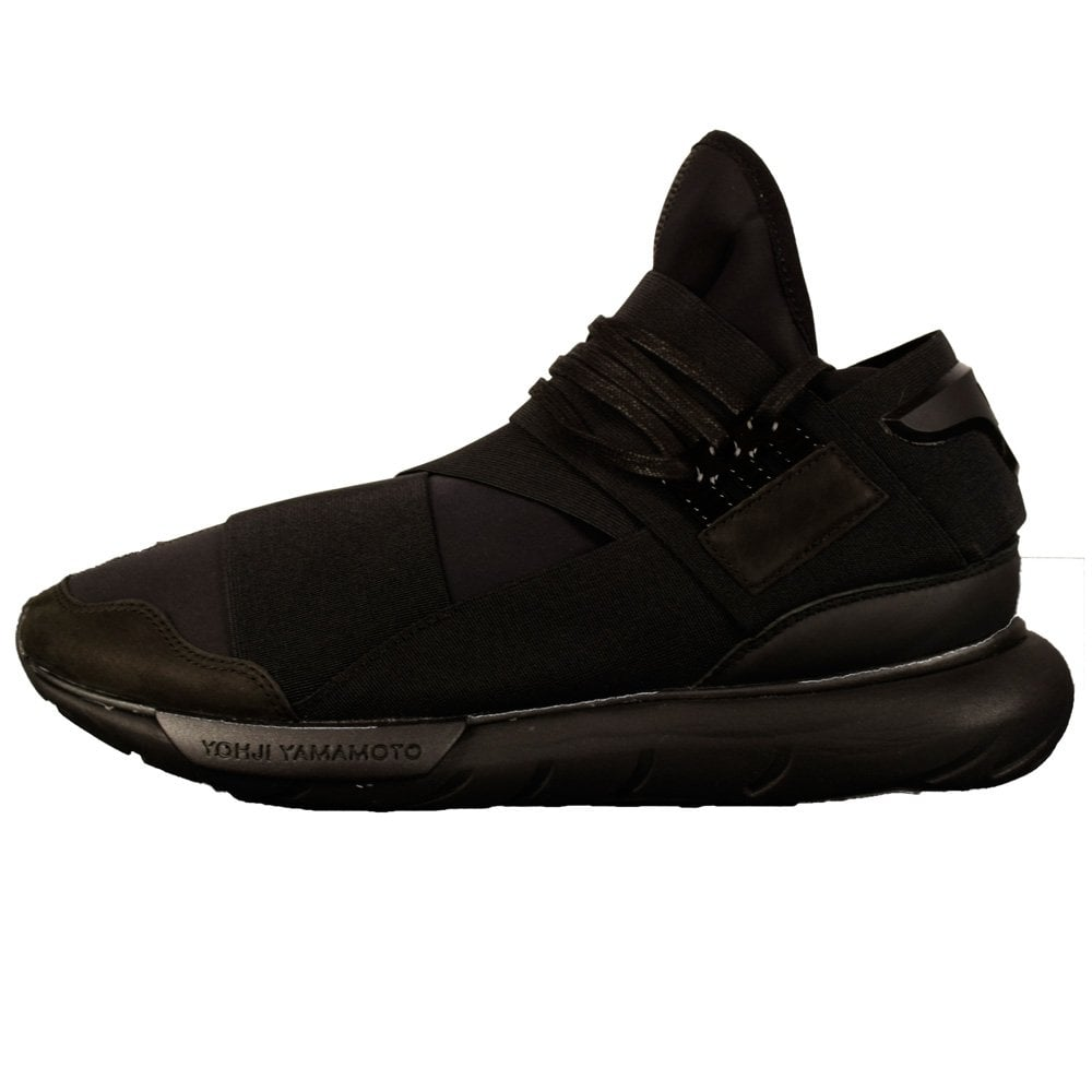 93b2a748a01f5 Adidas Y-3 Qasa High Triple Black