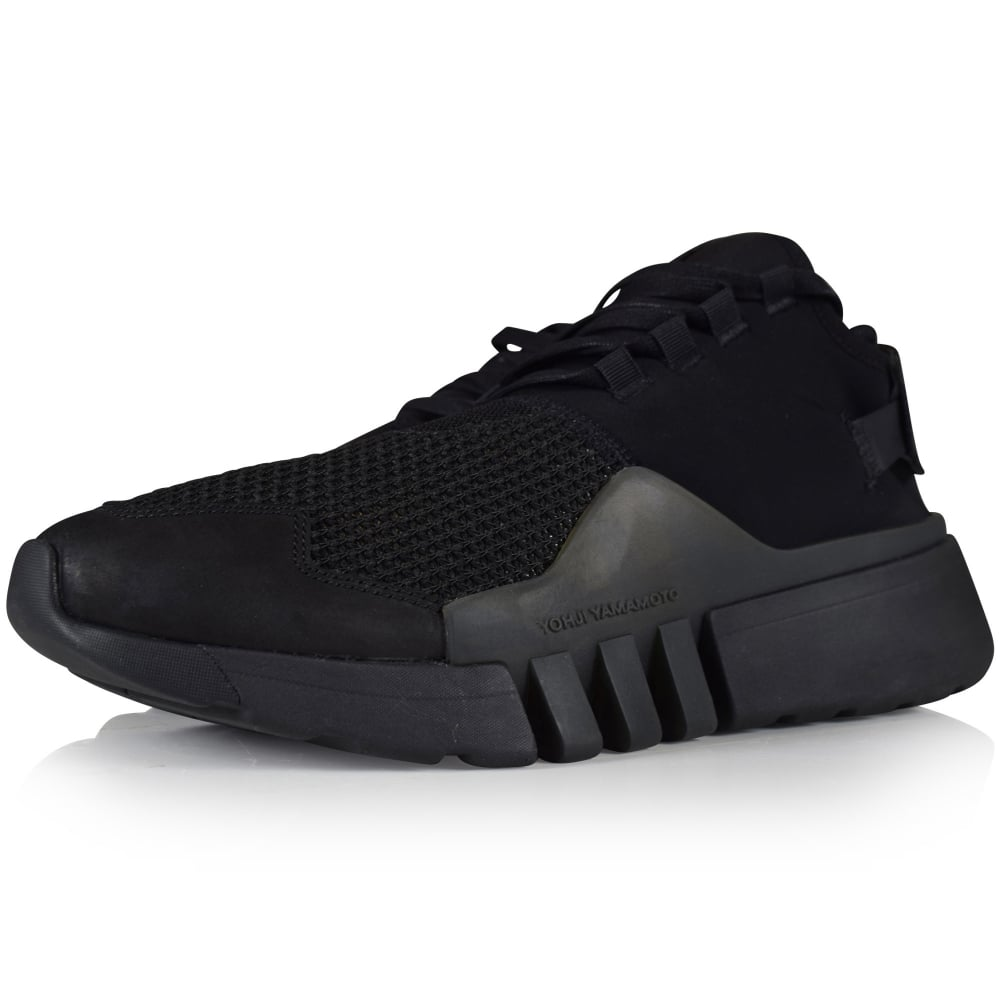 27db1ed5f ADIDAS Y-3 Adidas Y-3 Black Ayero Trainers - Men from Brother2Brother UK