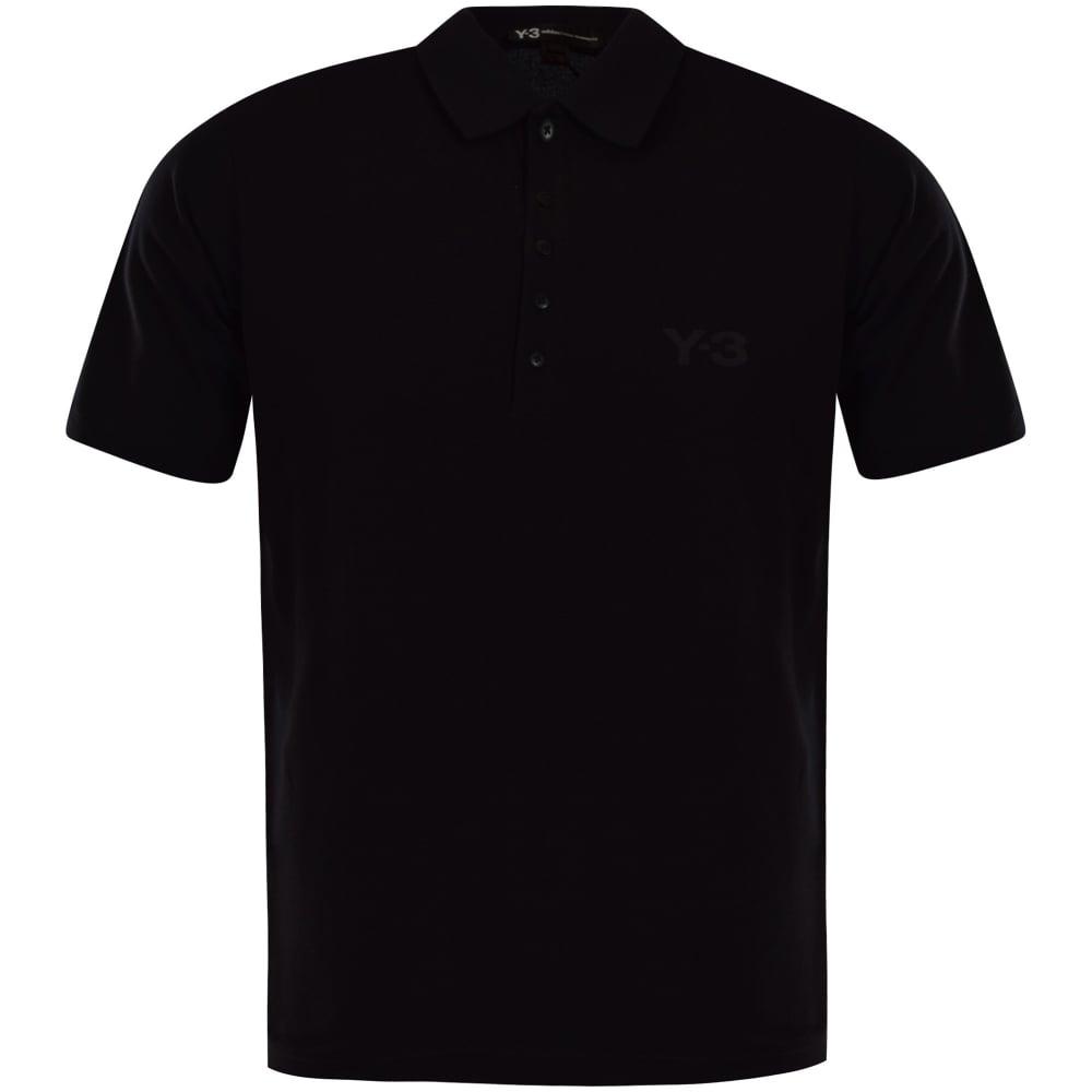 Logo Shirt Chest Polo Black L54RAj3