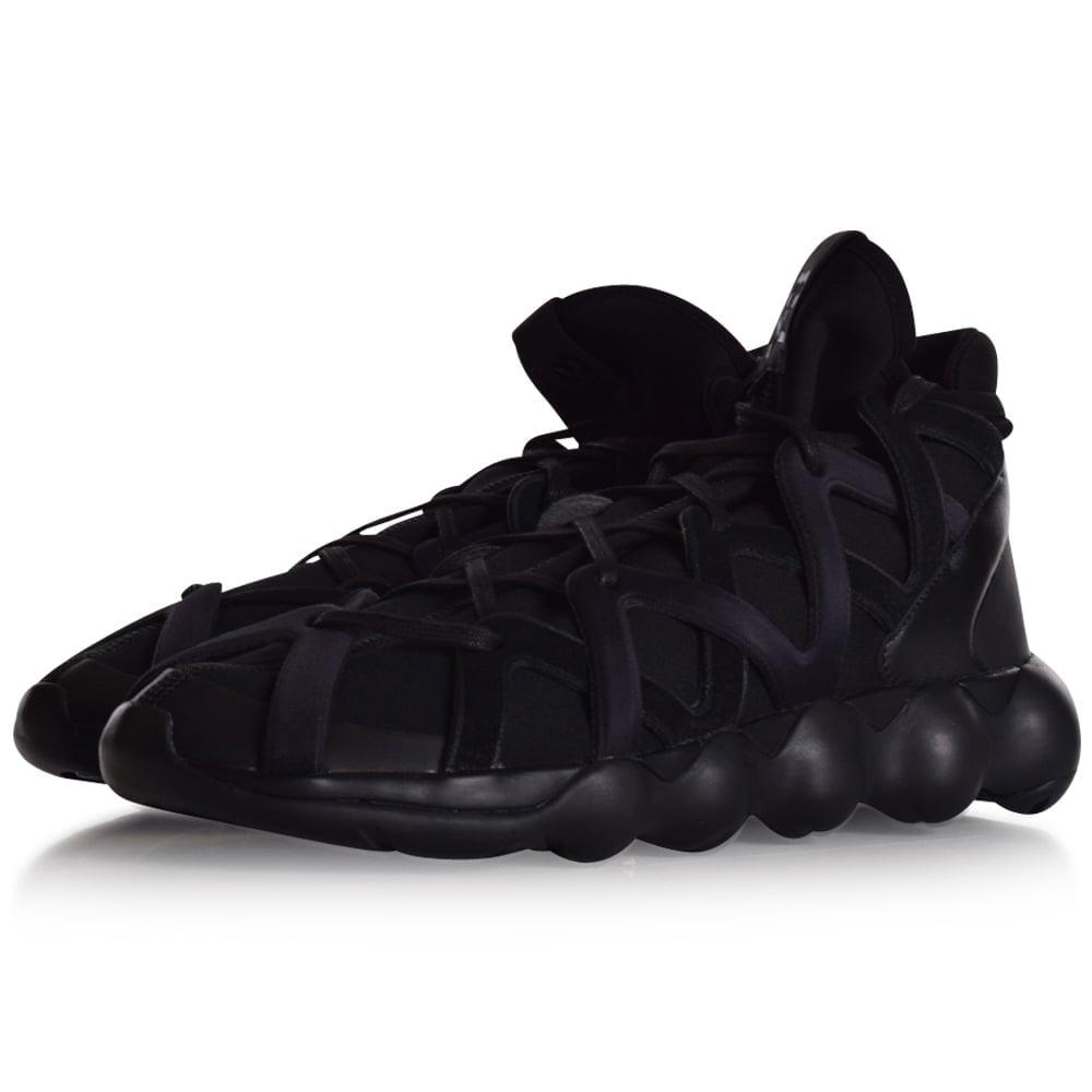 8309894f8 ADIDAS Y-3 Adidas Y-3 Black Kyujo High Trainers - Men from ...
