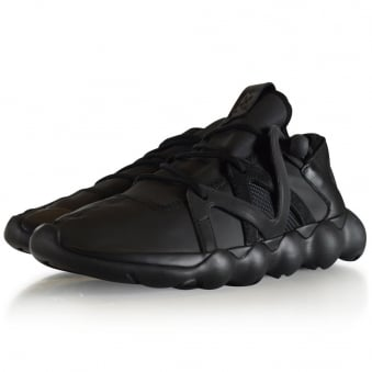 Adidas Y-3 Black Kyujo Low Trainers