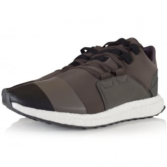Adidas Y-3 Black/Olive Kozoko Low Trainers