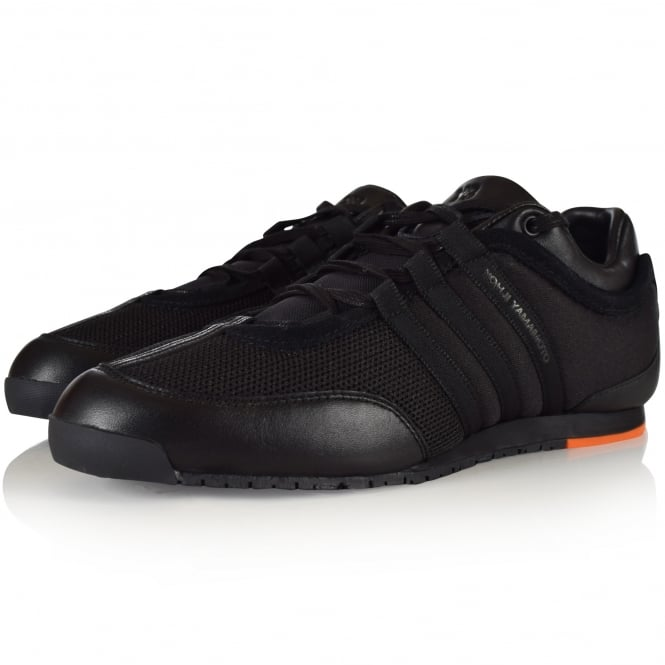 e73e977e33f8 ADIDAS Y-3 Adidas Y-3 Black Orange Boxing Trainers - Men from ...