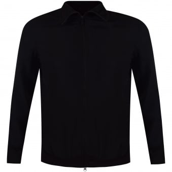 Adidas Y-3 Black Perforated Track Top