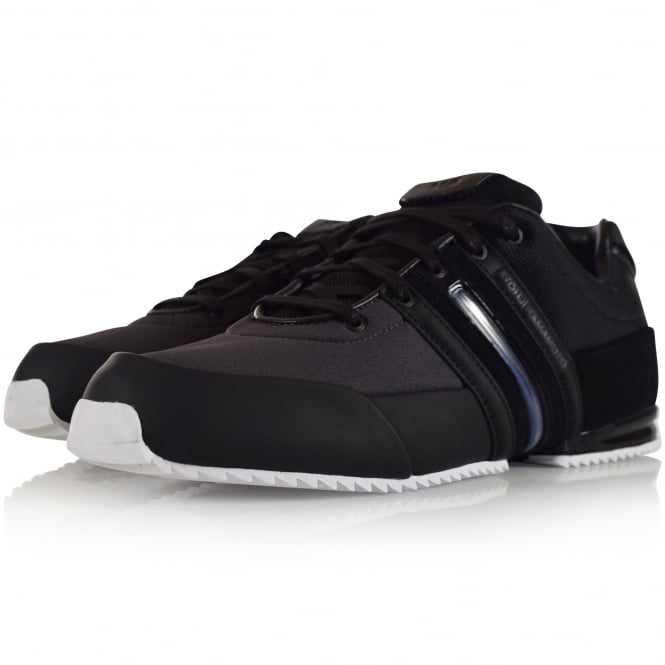ADIDAS Y-3 Black Sprint Trainers