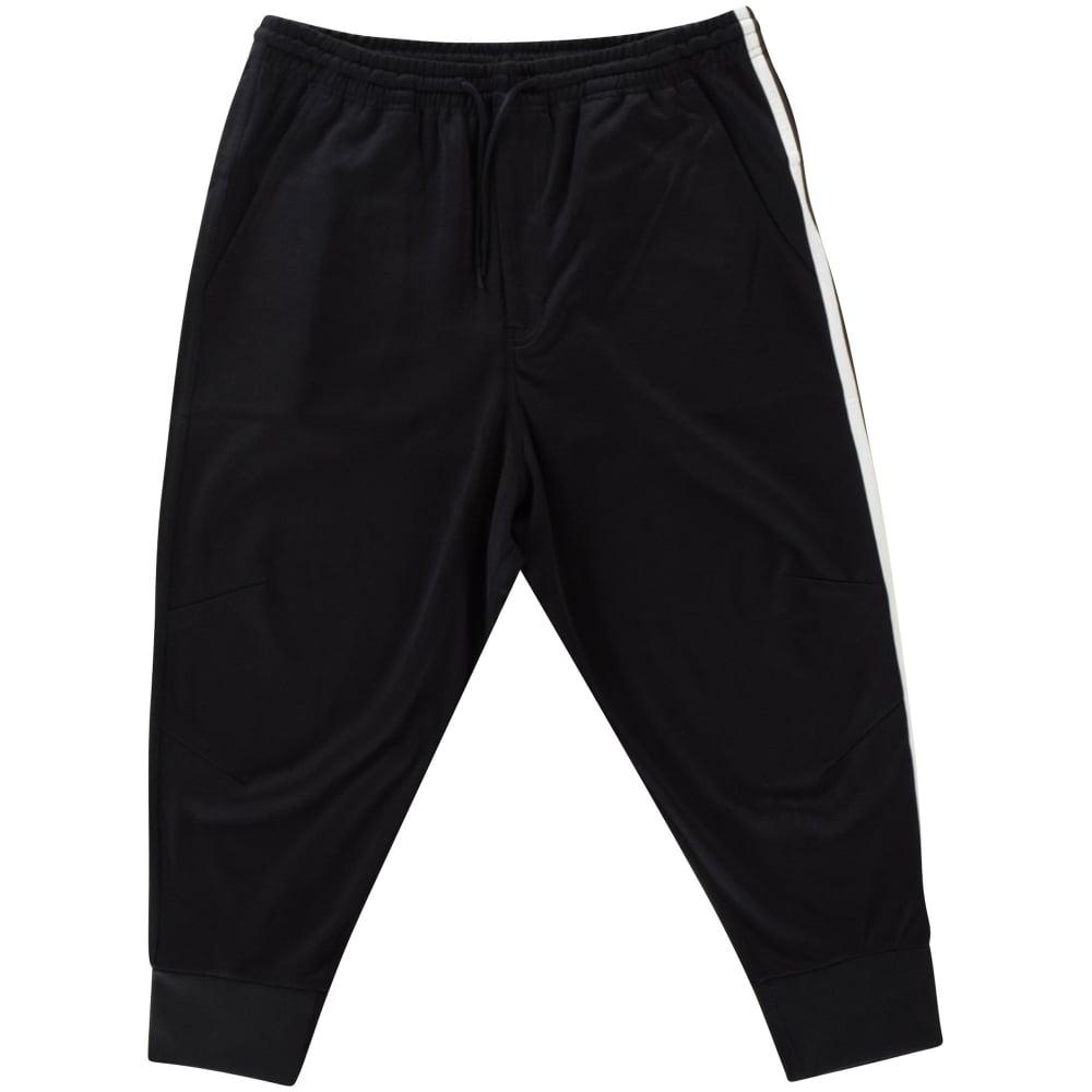 ADIDAS Y-3 Adidas Y-3 Black Tri-Stripe Track Pant - Men from ... 3a0795e2826a