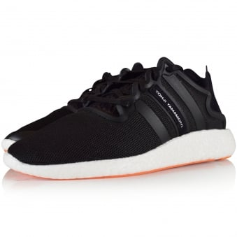 Adidas Y-3 Black Yohji Run Trainers