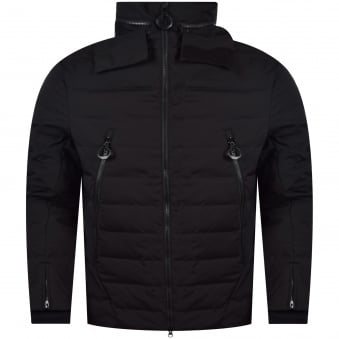 Adidas Y-3 Black Zip Down Jacket