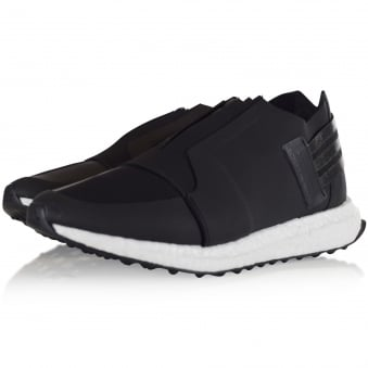 Adidas Y-3 Black Zip Low Trainers