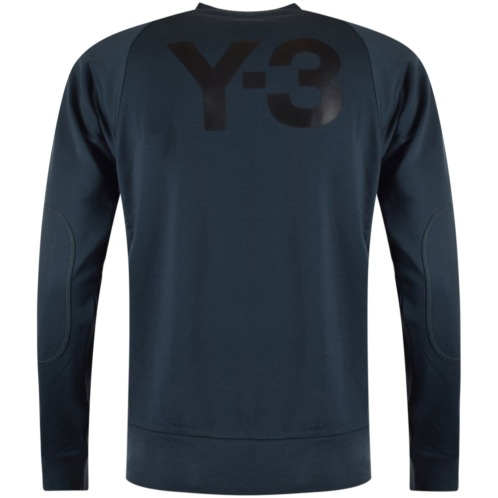 d5124fa99ed64 ADIDAS Y-3 Adidas Y-3 Blue Sweatshirt - Men from Brother2Brother UK