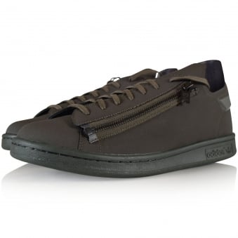 Adidas Y-3 Dark Olive Stan Zip Trainers
