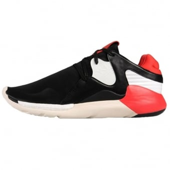 Adidas Y-3 Red - Black Boost QR Trainer