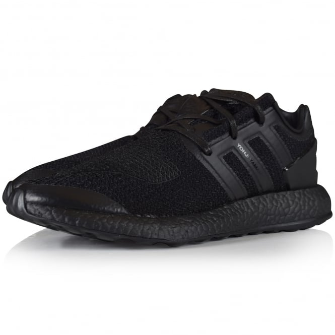 be61e420ca2d ADIDAS Y-3 Adidas Y-3 Triple Black Pure Boost Trainers - Men from ...
