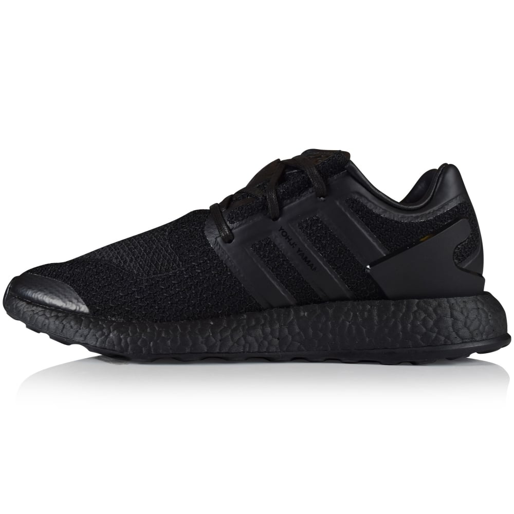 f670913b33b4 ADIDAS Y-3 Adidas Y-3 Triple Black Pure Boost Trainers - Men from ...