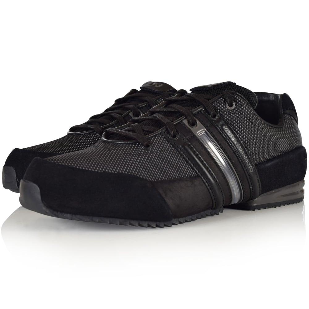 Adidas y 3 adidas y 3 triple nero sprint, allenatore di cg3206 uomini