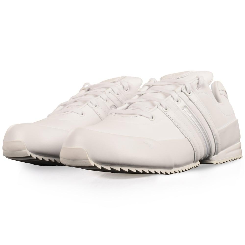 daf7e78d0c17 ADIDAS Y-3 Adidas Y-3 White Sprint Trainers - Men from ...