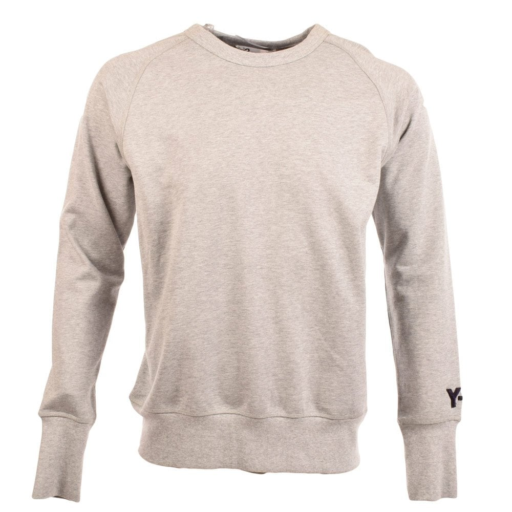 8bec5392e05f5 ADIDAS Y-3 Y-3 Grey Crew Neck Sweatshirt - Men from Brother2Brother UK