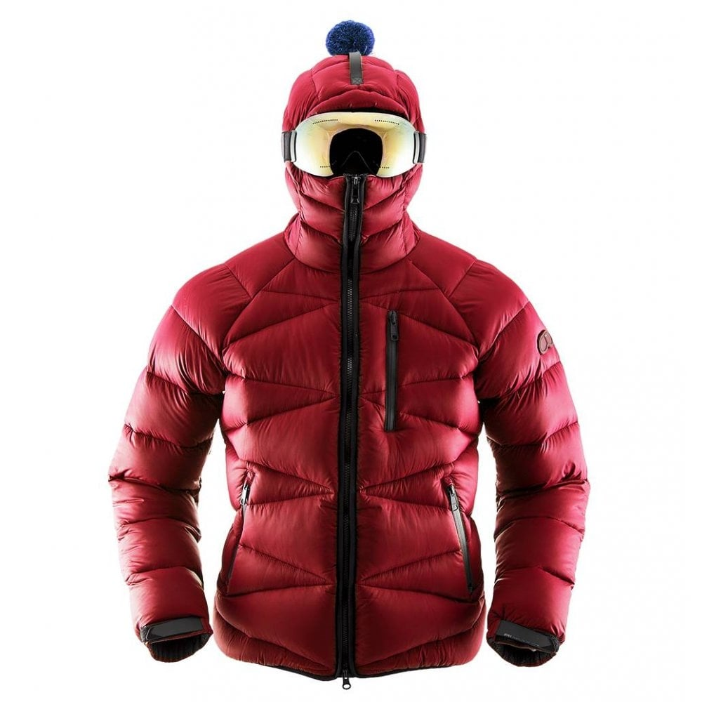 47a788724 AI Riders Red Zip Through Puffer Goggle Jacket