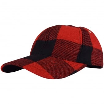 AMI Red Checked Cap