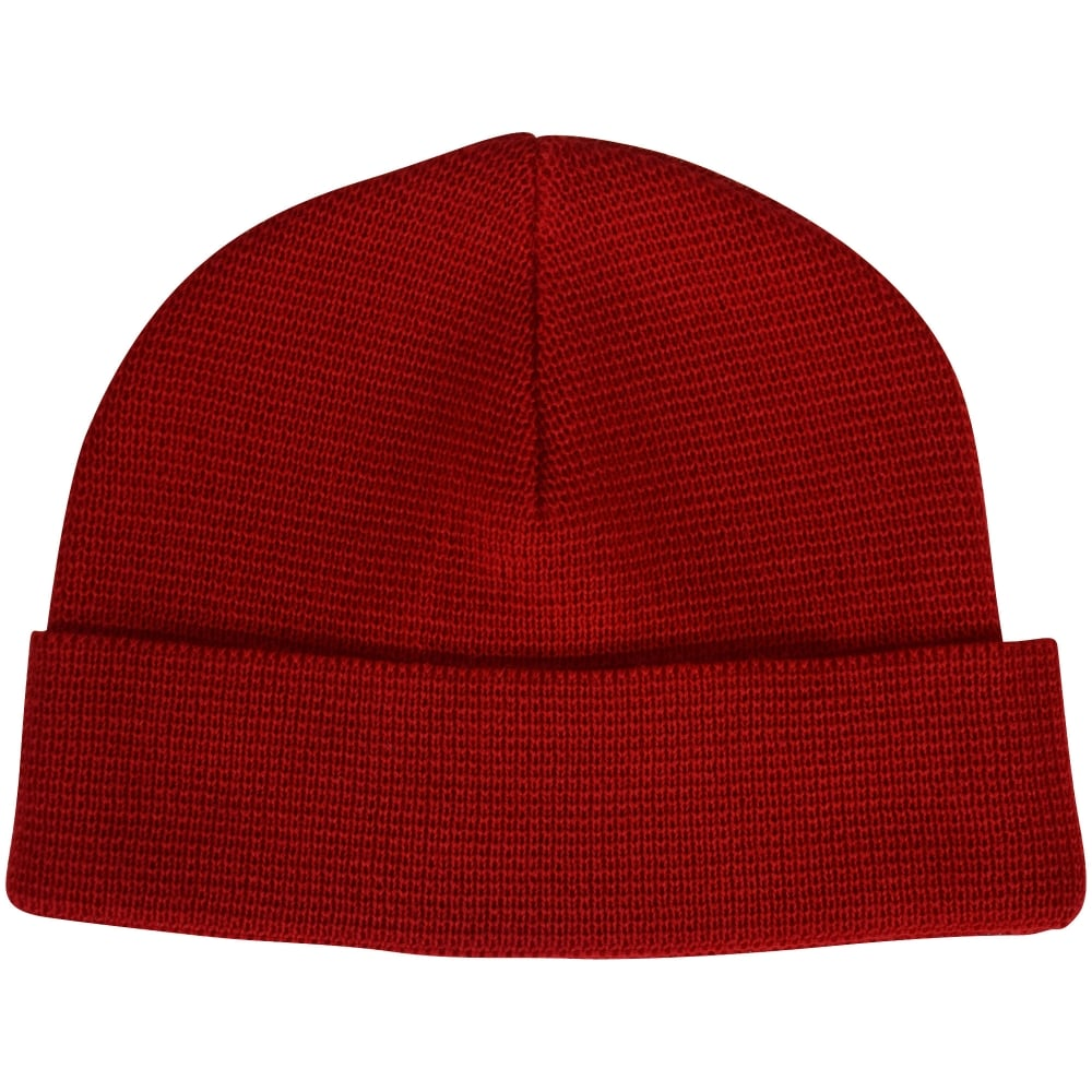 AMI PARIS AMI Paris Red Woolen Beanie Hat - Men from Brother2Brother UK a3643ae2486