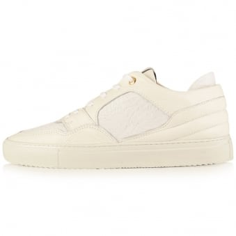 Android Homme White Omega Low Trainers