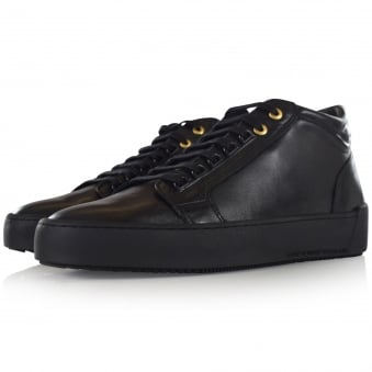 Android Homme Black Mid Propulsion Trainers