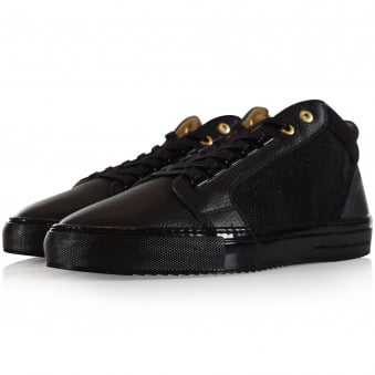 Android Homme Black Propulsion Mid Trainers