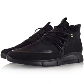 Android Homme Black Runyon Trainers
