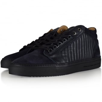 Android Homme Navy Propulsion Mid Trainers