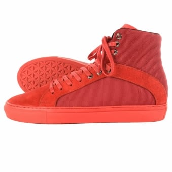 Android Homme Propulsion 2.5 Red High Trainers