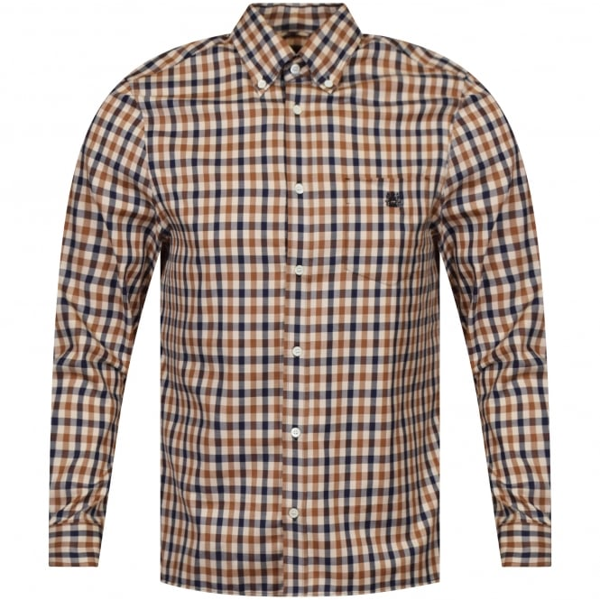 AQUASCUTUM York Club Check Shirt