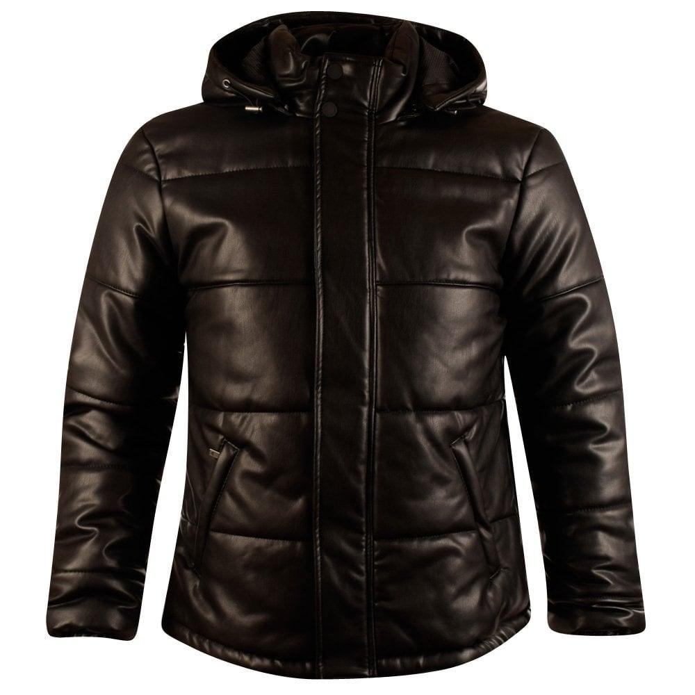 Armani jeans leather jacket