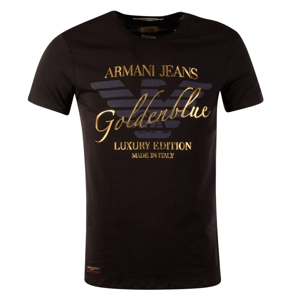 Emporio armani armani jeans navy made in italy short for Shirts made in italy