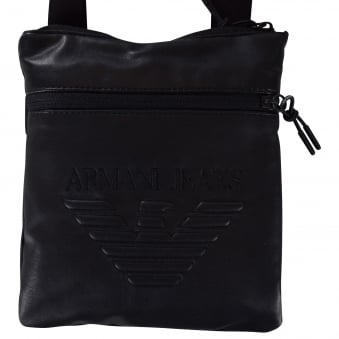 Buy armani jeans print zip body bag . Shop every store on the ... 55fe8bc75fc8a