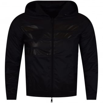 Armani Jeans Black Reversible Jacket