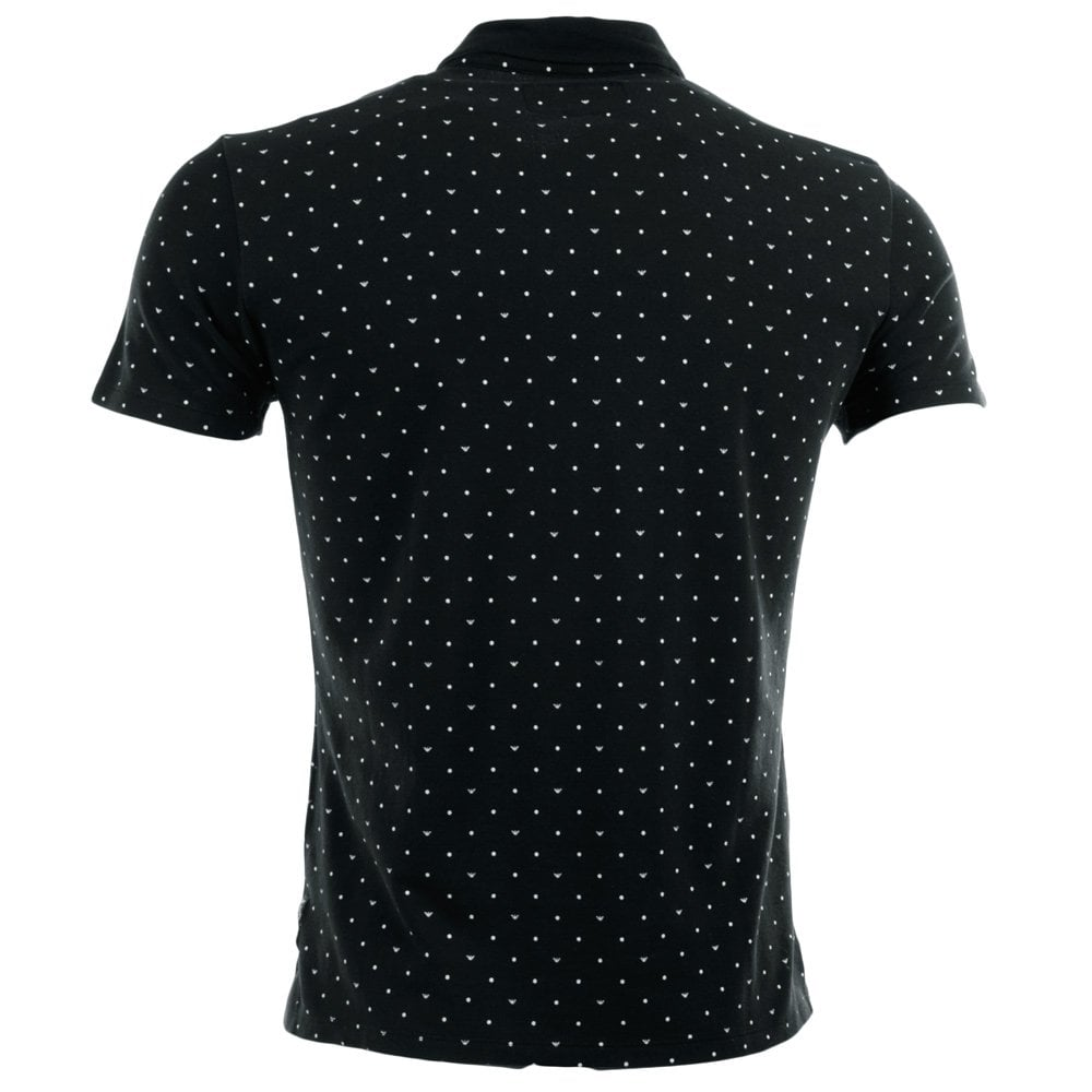 1dc43f34057 Armani Jeans Black Short Sleeve Shirt - Cotswold Hire
