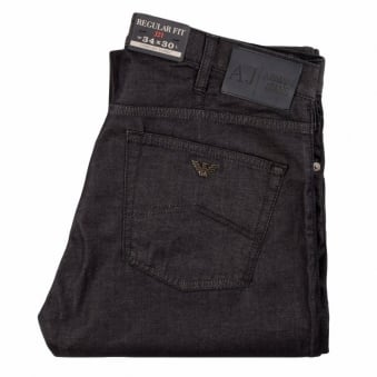 Armani Jeans Blue Denim J21 Regular Fit Jeans