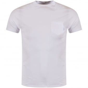 Armani Jeans White Pocket T-Shirt