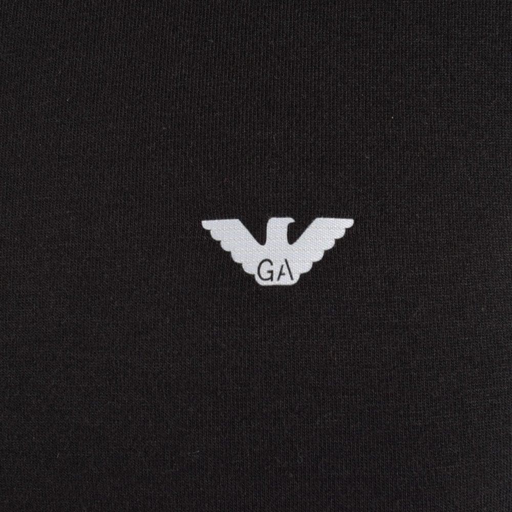 Emporio armani emporio armani underwear black logo t shirt - Emporio giorgio armani logo ...
