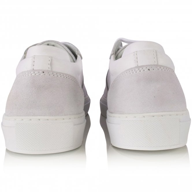 AXEL ARIGATO White Embroidered Trainers Reverse